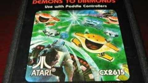 Classic Game Room - DEMONS TO DIAMONDS for Atari 2600