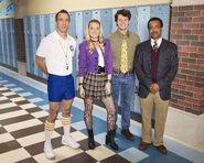 Schooled cast