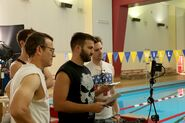 GB I Caddyshacked the Pool BTS 3
