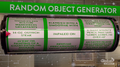 C20 random object generator
