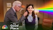 What Is a Niednagel? Kristen Bell and More Have Details Paley Center Special 2019 - The Good Place