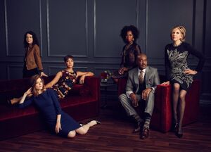 The Good Fight Season 1 Cast (1)