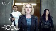 The 100 Season 7 Episode 16 Clarke's Rampage Scene The CW