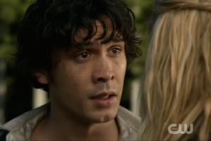 Bellamy begs Clarke to stay (Blood Must Have Blood Part 2)