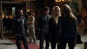 The100 S3 Perverse Instantiation 2 Murphy Pike Bellamy Clarke Abby