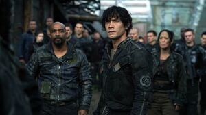 The100 S3 Terms and Conditions Bellamy Pike Hannah