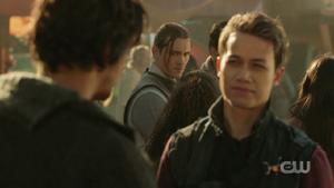 613 Trey watches Jordan talking to Bellamy
