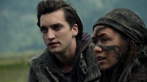 The100 S3 Wanheda Part 2 Murphy Emori