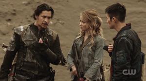 Harper, Bellamy and Monty The Dark Year