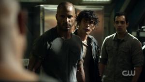 S3 episode Hakeldama - Lincoln, Jackson & Bellamy