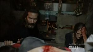 The 100 Season 5x7 - Kane and Abby pic 3