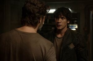 The100 S3 Wanheda Part 1 Kane Bellamy 2