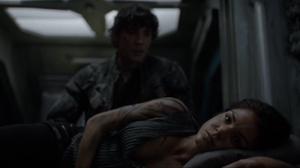 The 100 S4 episode 6 -Octavia & Bellamy