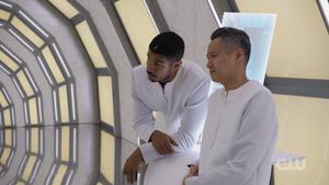 707 Gabriel with a disciple scientist