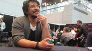 "Bob Morley ""Bellamy"" - The 100 at NYCC 2018"