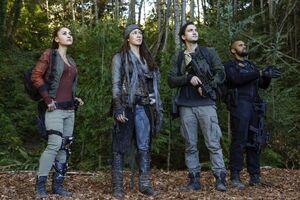 Raven, Emori, Murphy, and Miller