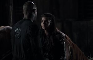 The100 S3 Wanheda Part 1 Lincoln Octavia 2