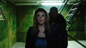 The 100 'DNR' official pic 2 - Clarke & Roan