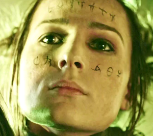 6.13 Hope Diyoza face tattoo