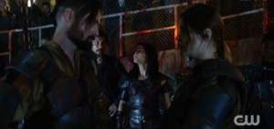 The-100-504- Octavia, Bellamy