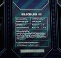 Eligius III file Screen