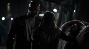 The100 S3 Wanheda Part 1 Lincoln Octavia