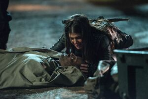 The-100-Demons-3x12-promotional-picture-the-100-tv-show-Octavia pic 2