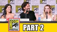 THE 100 Season 4 Comic Con Panel (Part 2) - Eliza Taylor, Lindsey Morgan, Marie Avgeropoulos