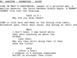 From the Ashes/Transcript