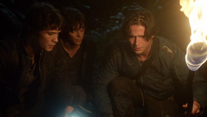 His Sister's Keeper 024 (Bellamy, Jasper, and Finn)