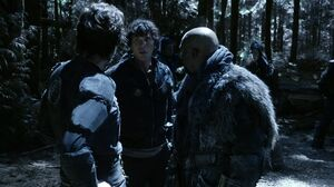 The100 S3 Wanheda Part 2 Kane Bellamy Pike