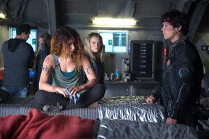 The Four Horsemen (Promo 11) (Luna, Bellamy, and Clarke)