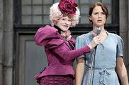 Effie & Katniss at reaping
