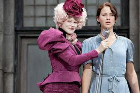 Effie & Katniss at reaping.jpg