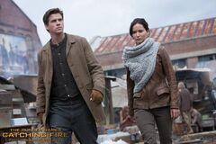 Gale y Katniss En Llamas.jpg