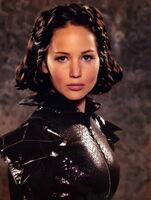 Katniss tribute parade