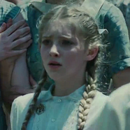 Prim at the reaping.