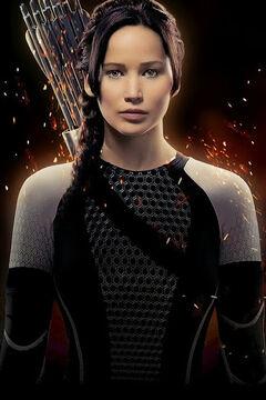 Katniss Poster latinoamericano de En Llamas.jpg
