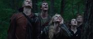 Careers watch Katniss climb