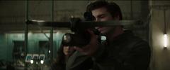 Gale probando su ballesta en Armamento Especial.png