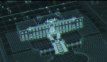 Голографическое изображение дворца Сноу