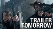 "The Hunger Games Mockingjay Trailer Countdown – ""Tomorrow"""
