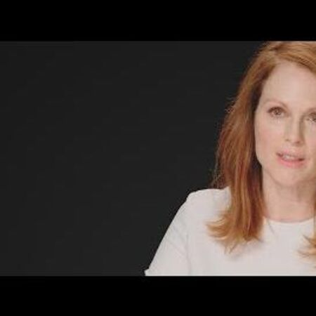 The Hunger Games Mockingjay Part 1 - Julianne Moore TheHungerGamesExclusive.com Interview