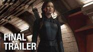 "The Hunger Games Mockingjay Part 1 Final Trailer – ""Burn"""
