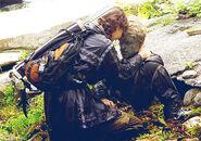 Katniss peeta rocks