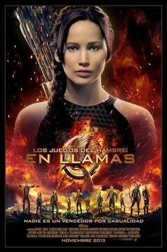 Poster latinoamericano de En Llamas.jpg