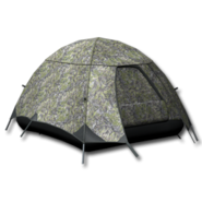Large equipment tent alpine camouflage 256