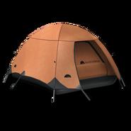 Large equipment tent orange 256