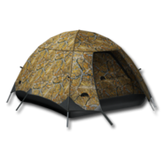 Large equipment tent fall camouflage 256