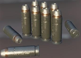 .22LR Hollow-Point Bullet